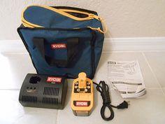 Ryobi 18v NiCd Batteries & Charger one 18v NiCd charger and one NiCd 18v batteri #RYOBI
