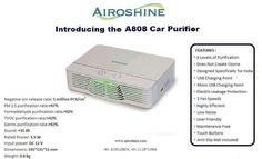 Airoshine A808 car air purifier