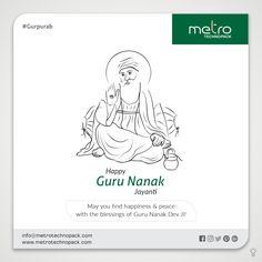 May your life full of golden days always with Guru's blessings warm wishes on Guru Nanak Jayanti. Wishing You a Happy Gurupurab From ! Guru Purab, Vallabhbhai Patel, Guru Nanak Jayanti, Nanak Dev Ji, Social Media Poster, Golden Days, Personal Development, Techno, Festivals