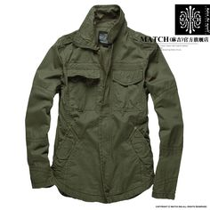 Match Magee spring military jacket uniform outdoor leisure military army green thin coat of men 1029