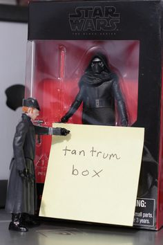 """Hux! Lemme out!"" ""No! You're staying in there until you apologize to me for breaking my ship!"""