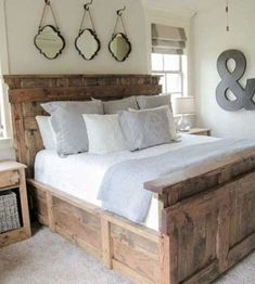 70 Beautiful Farmhouse Master Bedroom Decor Ideas