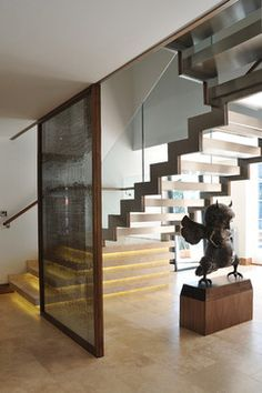 St Georges Hill - modern - staircase - london - Elite Metalcraft Co. Ltd