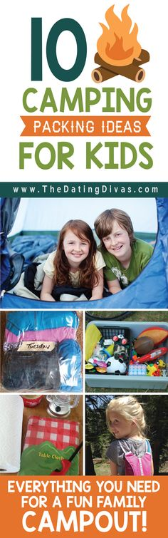 Family Camping Packing Ideas