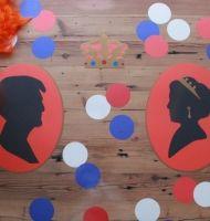 Inhuldiging van Willem-Alexander vieren wij ook op tafel. Met mooie decoratie onder het Tafelziel.