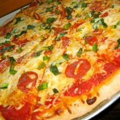 this recipe is amazing! Only pizza crust recipe I use now! Made it a dozen times. . . everyone loves it. . . and its nice its healthier