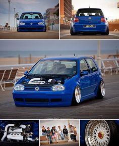 Will Sparrow's Mk4 Volkswagen Golf GTI - Performance Volkswagen Magazine // April 2013