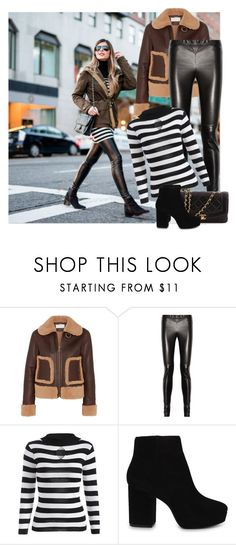 """Winter Street Style"" by annazonno ❤ liked on Polyvore featuring Chloé, Gucci, ALDO and Chanel"