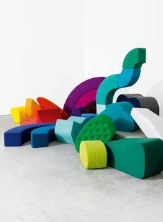 Fabrics by Kvadrat