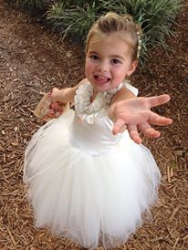 One of our Beautiful Flower Girls <3 flower girl ideas - flower girl tutu - etsy