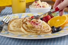 Liven up your pancakes, breads, and even your meat with a little Piña Colada Butter!