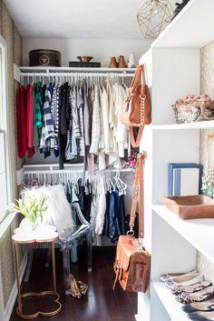 Real Life Solutions: Lessons from Well-Organized Closets  ideas para mi closet en la nueva habitación