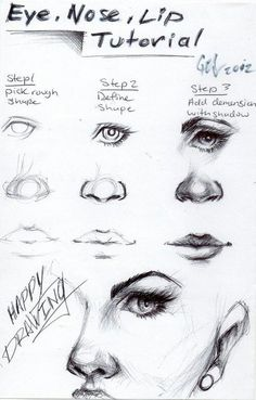 How to draw face??: