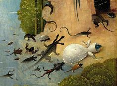 Detail from The Garden of Earthly Delights, Hieronymus Bosch, 1504.