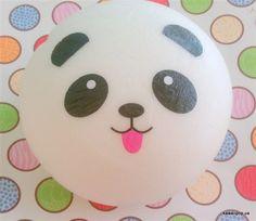 Kawaii Panda Bun Squishy Key Chain by kawaiipopus on Etsy, $4.00