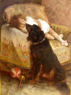 """Precious Moments,"" c.1887 -- by Elizabeth Strong (American, 1854--1941)"