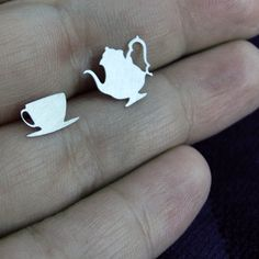 $12 Mad tea party earrings
