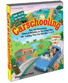 Turning your time in the car into a learning experience.  Written by unschooling mom.