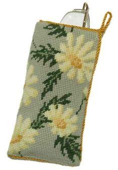 Marguerite Glasses/Spectacle Case tapestry kit