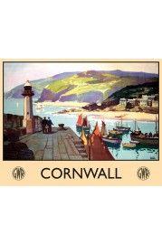 Cornwall - 20x15cm
