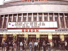 Hammesmith Odeon, July 3,1973, Ziggy's last show with the Spiders. That's all folks.