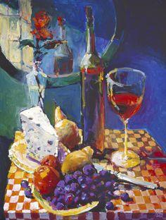 Burgundy & Blue (Burridge)
