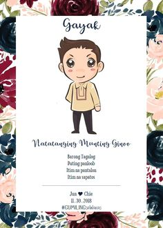 Wedding Goals, Dream Wedding, Wedding Ideas, Filipiniana Wedding Theme, 25th Wedding Anniversary, Anniversary Ideas, Filipino Wedding, Wedding Entourage, Invitation Wording