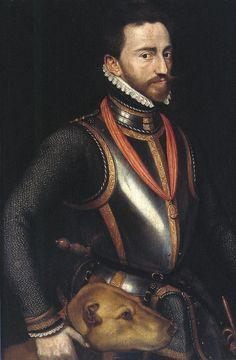 Graaf Lodewijk van Nassau geboren op 10 januari 1538.(*02)