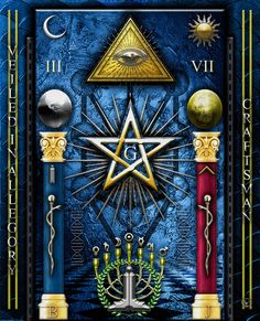 Masonic Art, Freemasonry, Occult, Surrealism, Magick, Art