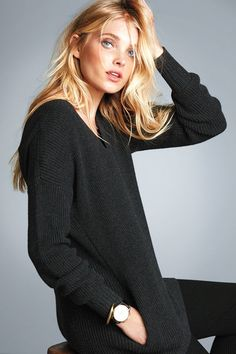 A new classic. | Victoria's Secret V-Neck Tunic