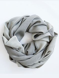 One of only 20 handmade scarves from Hackwith Design