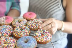 Sweet Treats: Beach Sprinkle Donuts with Gray Malin