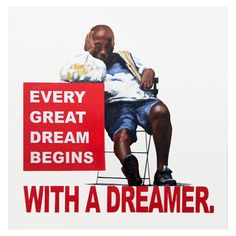 every great dream begins with a dreamer by Sabrina Rocca, via Behance