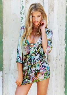 Beach Bunny Swimwear Sweet Pea Tunic Cover-up At Pesca Boutique from Picsity.com