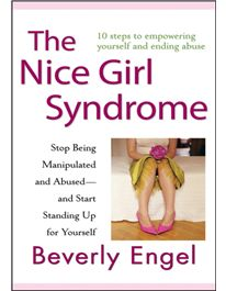 "The Nice Girl Syndrome by Beverley Engel. How to stop being a ""victim"" and CHOOSING to settle for assholes (or abusers) Even if some of the more extraordinary situations don't apply to your own life (e.g., you've never been in a woman's shelter), her insight will. Wasting time with anyone on the spectrum from Asshole to Abuser indicates that somewhere inside you, YOU'VE got some work to do. You don't just need a better man -- you need a better you."