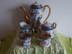 A Japanese coffee / tea set. by ByGoneEraEmporium on Etsy