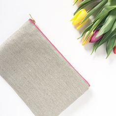 Organic Hemp-Cotton Clutch Bag