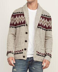 Polo Ralph Lauren Indigo Cable-Knit Cardigan | Men sweaters ...
