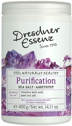 Dresdner Essenz Purification Bath Salt Essenz