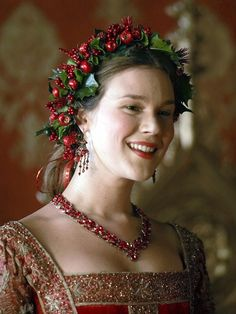 Joss Stone as Anne of Cleves in The Tudors (Season 3) (something tells me Joss is considerably more attractive than history tells us that the actual  Anne of Cleves was, LOL)
