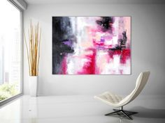 Extra Large Wall Art Original Art Bright Abstract Original Painting On Canvas Extra Large Artwork Contemporary Art Modern Home Decor Large Artwork, Extra Large Wall Art, Original Art, Original Paintings, Unique Paintings, Abstract Canvas Art, Texture Painting, Art Auction, Drawing Art