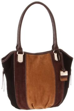 Tignanello Tres Suede Cross Body,Cognac Comb,One Size