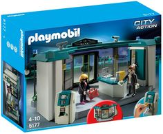 Playmobil #5177 Bank with Safe! -New-Factory Sealed
