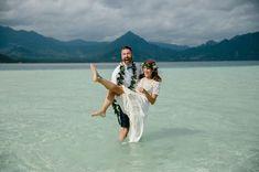 Hawaii Sandbar Wedding  - @linds_808 - gorgeous wedding that reminds me of you!