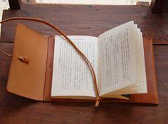 ブックカバー・文庫サイズ オープン