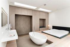 Loft bedroom/bathroom | Bloemgracht 175 -179 1016 KN Amsterdam - Foto's [funda]
