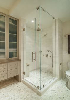 Upper East Side Apartment 2 transitional-bathroom