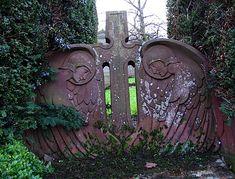 art nouveau gravestone.  I think I found my headstone