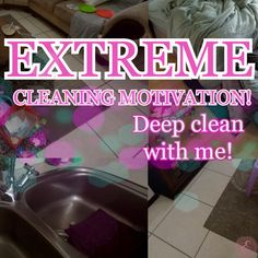 Are you in need of tons of EXTREME CLEANING MOTIVATION? Then you are in luck! Today, we are going to be tackling my home and crossing off some DEEP CLEANING tasks and GETTING. STUFF. DONE!