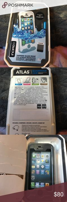 Nwt incipio atlas waterproof case for iPhone 5/5s Nwt incipio atlas waterproof case for iPhone 5/5s color grey incipio Other